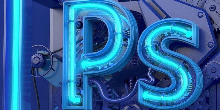 Adobe Photoshop Neo-Cube on Behance