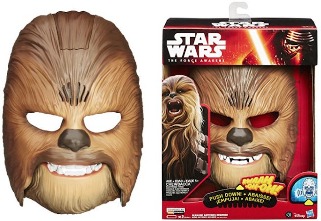 Amazon Deal : Star Wars Chewbacca Electronic Mask $19.19 (reg. 31) - http://couponsdowork.com/amazon-deals/amazon-deal-star-wars-chewbacca-electronic-mask-19-19-reg-31/