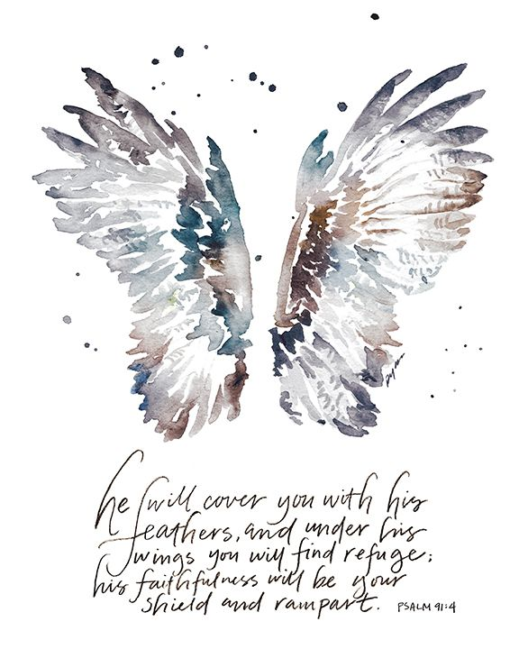 """NEW """"He Will Cover You"""" Print available in #gracelacedshoppe and included in the 20% off storewide SALE and free print promo. See details at gracelaced.com"""