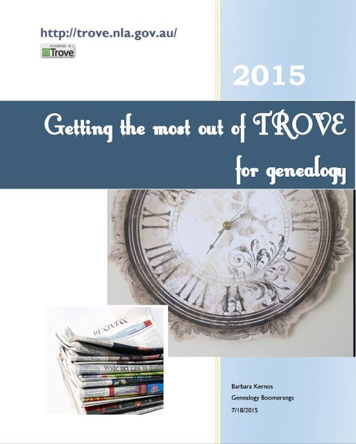 Free ebook with hints on using Trove website for Australian newspaper research and more.  https://drive.google.com/drive/my-drive