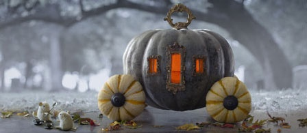 Halloween Ideas | Pumpkin Carving Tips | Cinderella carriage