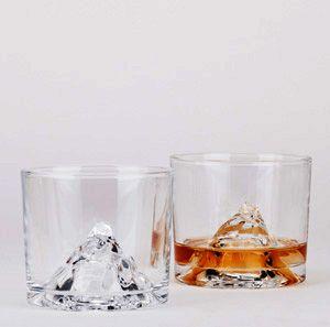 Verre à whisky en cristal Montain Glass Pa Design