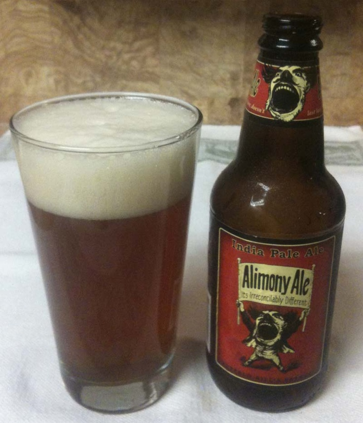 Alimony Ale IPA from Buffalo Bill's Brewery