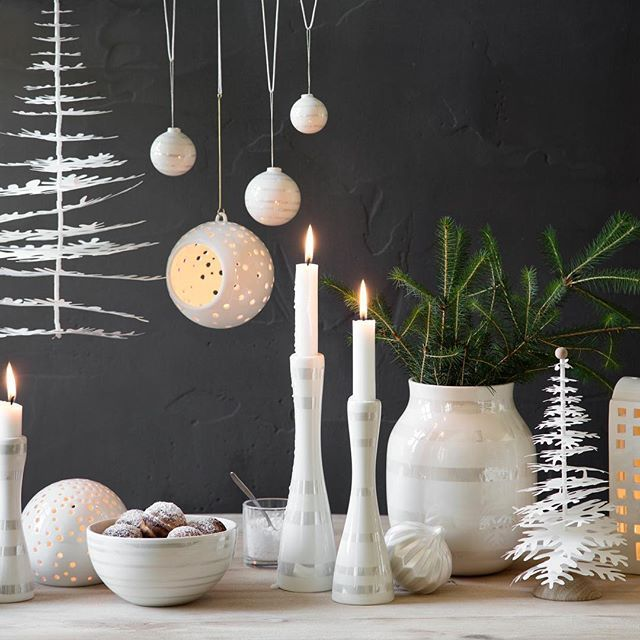 Need some inspiration and tips & tricks for your Christmas decoration? Then please join our free event in Aarhus, Denmark on the 24th! For more info, check the link in our bio! #LinkInBio #Kähler #ArosArt