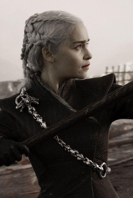 Daenerys Targaryen (7x4) game of thrones season 7 episode 4, Emilia Clarke