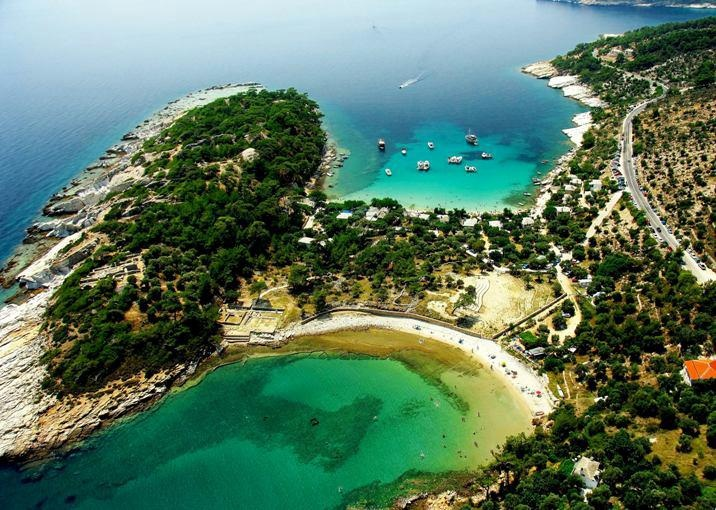 THASOS Island    Aliki beach  CLICK THE PIC and Learn how you can EARN MONEY while still having fun on Pinterest