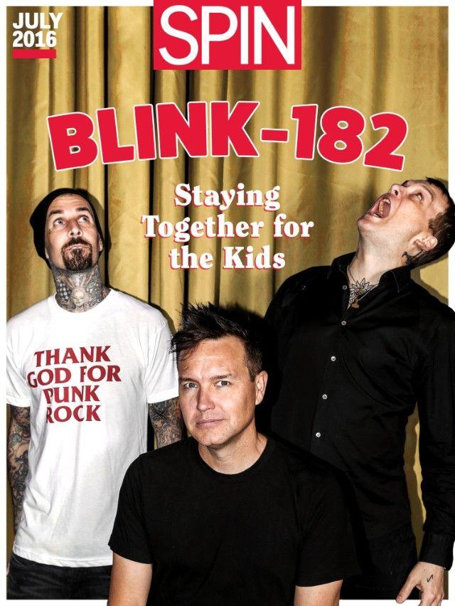 blink-182, california, spin cover story, mark hoppus, travis barker, matt skiba, tom delonge