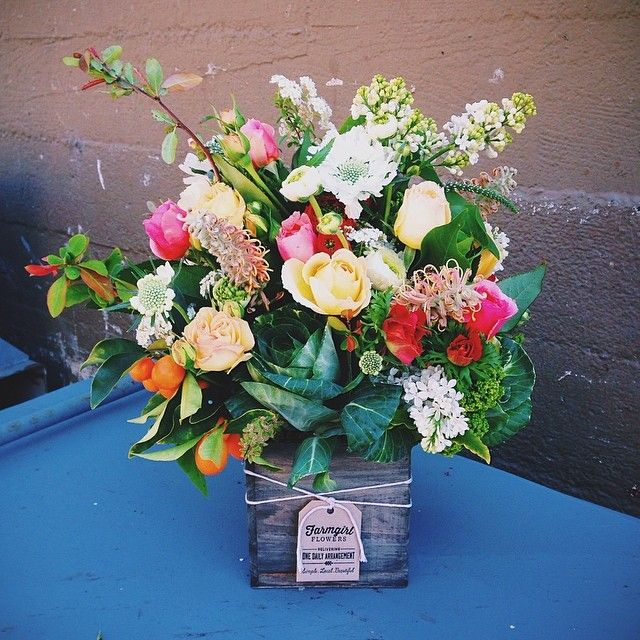 Sweet california grown arrangement from farmgirl flowers