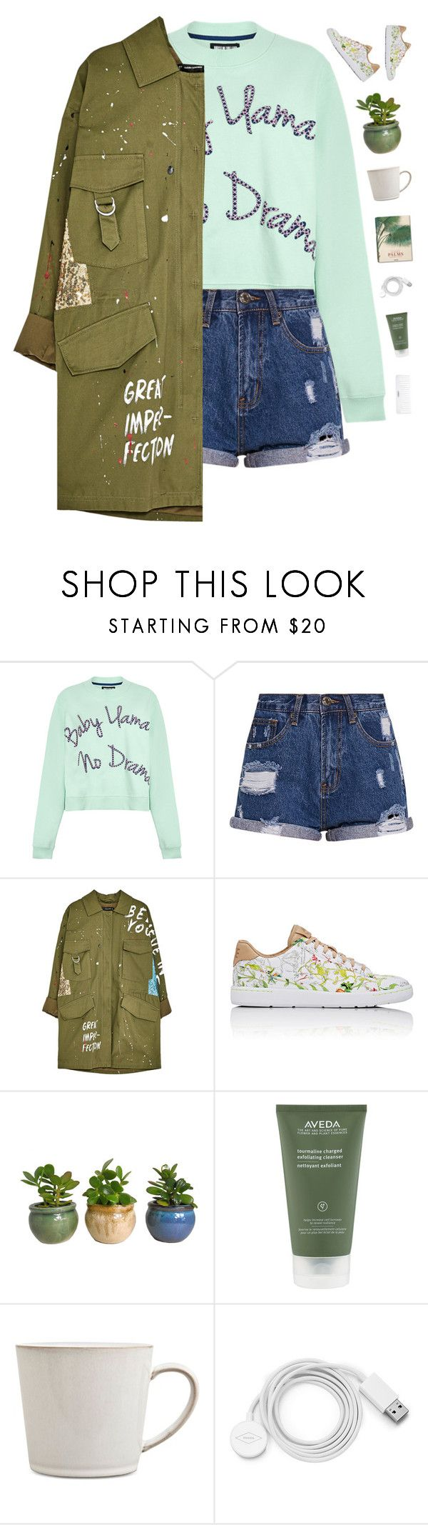 """""""All I want is you"""" by genesis129 ❤ liked on Polyvore featuring House of Holland, NIKE, Taschen, Aveda, Denby, FOSSIL, Conair and vintage"""