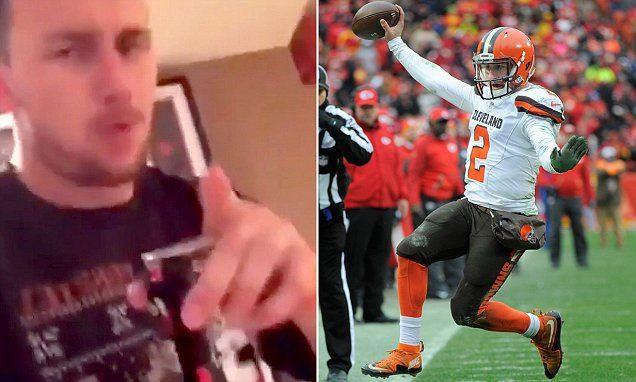 Johnny Manziel caught partying again in new online video