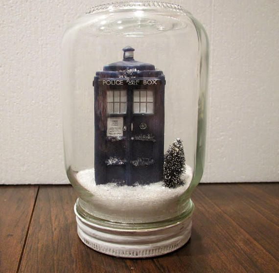 DIY Doctor Who diorama
