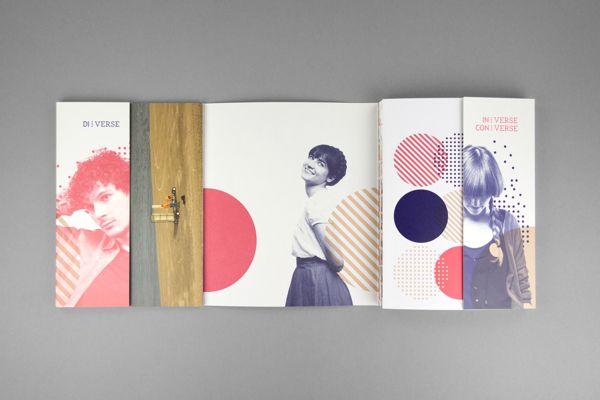 UNI:VERSE 2012 by MOOI design, via Behance (https://www.behance.net/gallery/UNIVERSE-2012/8126661)