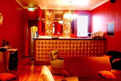 Madame Fling Flong, Newtown! Love the retro style lounge. Tuesdays are movie nights. Rooms can be hired for functions as well #venue #events