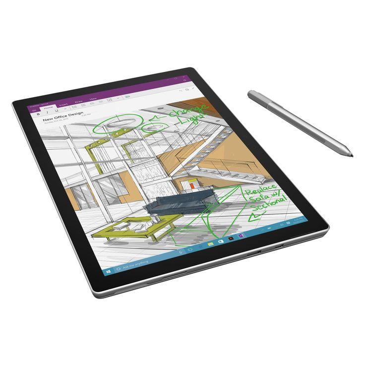"""Microsoft Surface Pro 4 Tablet - 12.3"""" - PixelSense - Wireless LAN -"""
