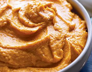 Cinnamon Sweet Potatoes with Vanilla! Great healthy side dish.