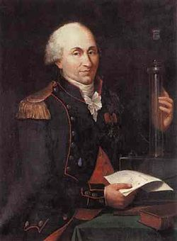 Charles-Augustin de Coulomb (14 June 1736 – 23 August 1806) was a French physicist. He is best known for developing Coulomb's law, the definition of the electrostatic force of attraction and repulsion. The SI unit of charge, the coulomb, was named after him.