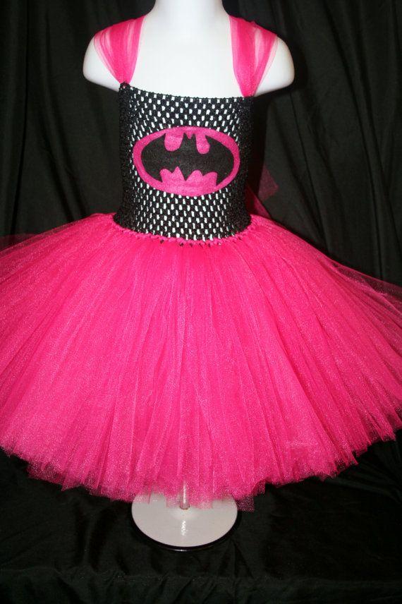 Bat Girl Inspired Tutu Dress Bat Girl Tutu by LittleMissTrendyTutu, $38.00