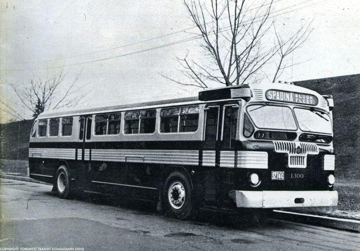 Twin Coach on Spadina TTC Toronto