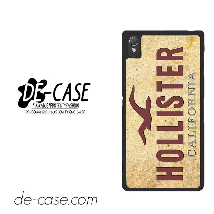 Hollister For Sony Xperia Z3 Case Phone Case Gift Present YO