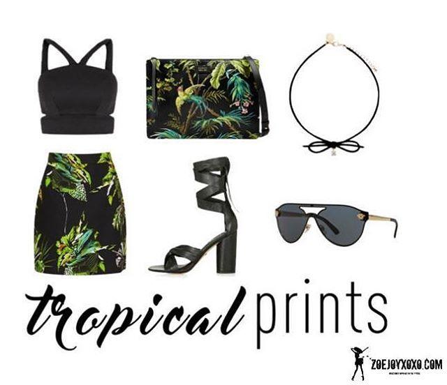 "12 Likes, 3 Comments - F A N T A S Y  W A R D R O B E (@fantasywardrobexoxo) on Instagram: ""DARK TROPICS #TropicalPrint #Prints #CropTop #MrPrice #Gucci #Versace #ForeverNew #TropicalPrints…"""