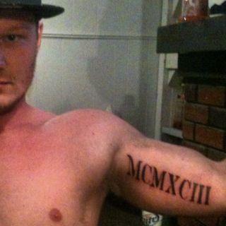 Roman Numeral Tattoo Idea (1993)