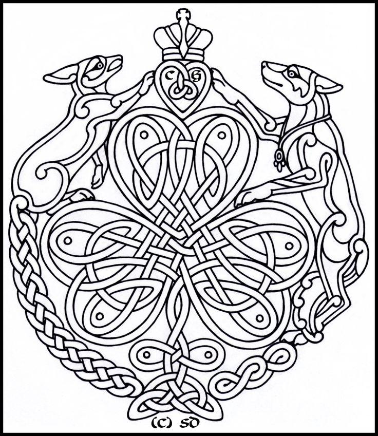 Celtic Valentine By Swandog