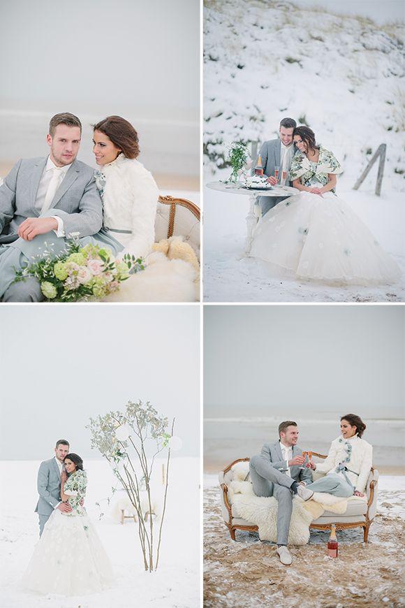 Pastel Winter Inspiration Shoot by Jennifer Hejna