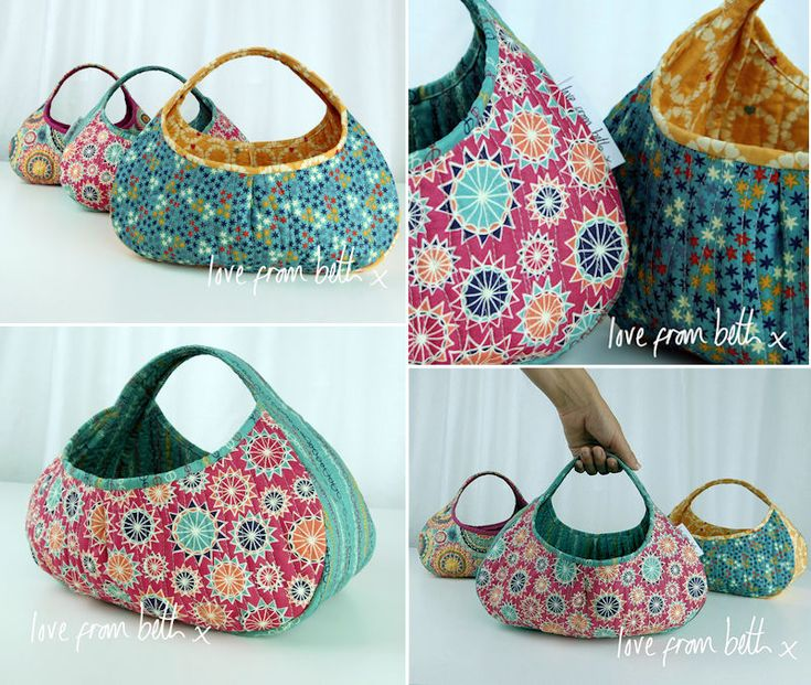 "A beautifully shaped yet simple to make basket. This is put together in just 3 parts and once finished will provide you with some useful and attractive storage for any room. The design is so simple there is lots of room for adaptation. Why not try some feature quilting or a pieced front panel. They would be fantastic as gift baskets filled with goodies. Finished Size 12"" wide x 8 1/2"" high x 10"" deep"