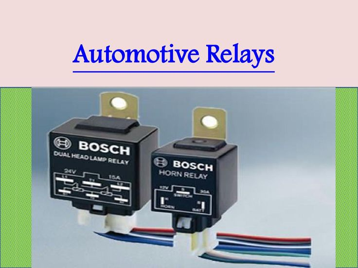 Best #AutomotiveRelays by #Bosch with good mechanical and dielectric strength making them extremely resistant to vibration.