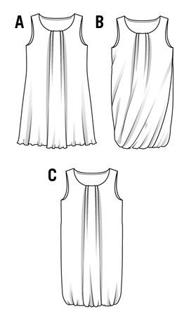 pattern, free : Downloadable patterns for dresses | THE TRUNK OF COSTURERAS