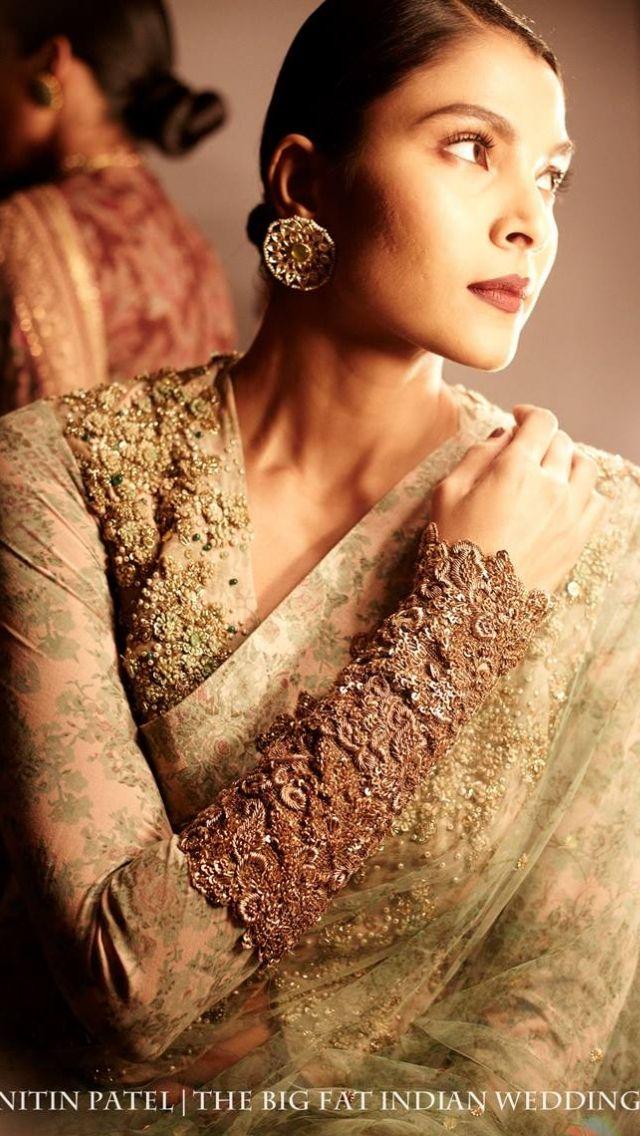 Sabyasachi. Loving the sleeves...Details.