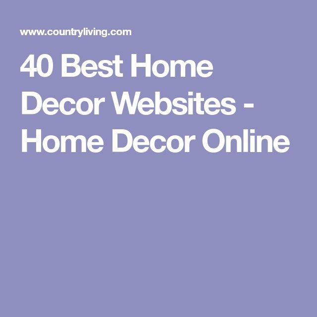 40 Best Home Decor Websites - Home Decor Online