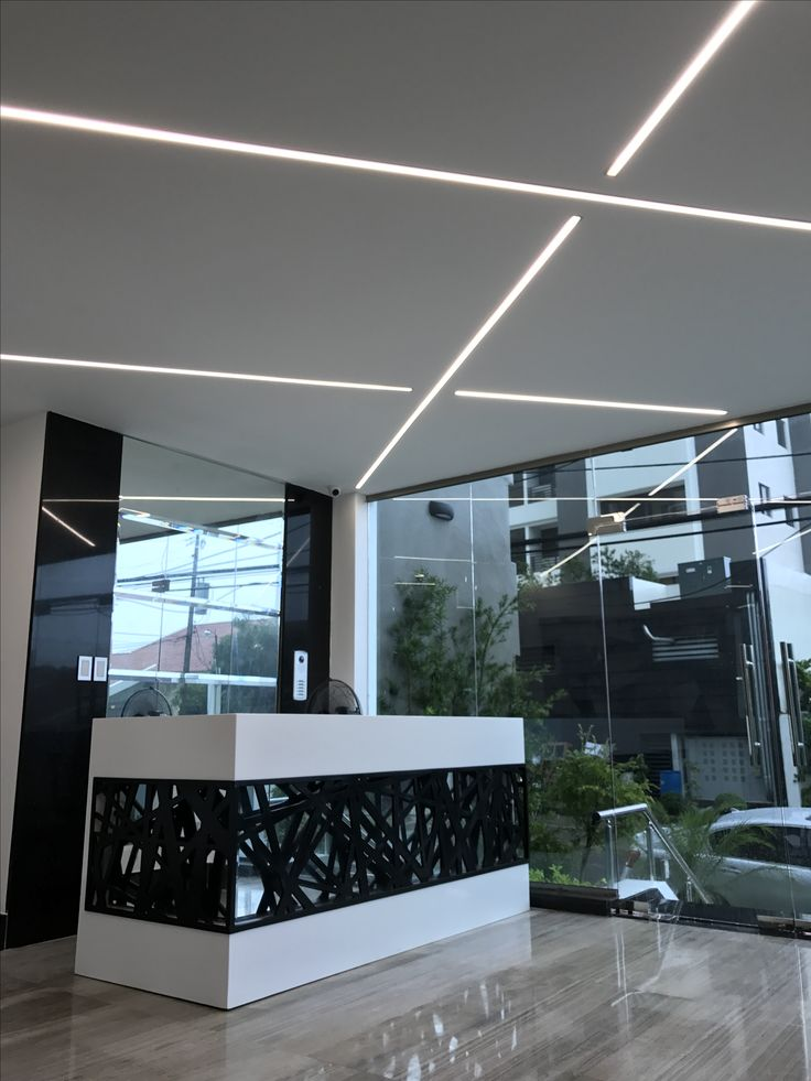 Moga materiales  Iluminación lineal