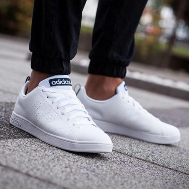 Adidas white casual shoes, Adidas white