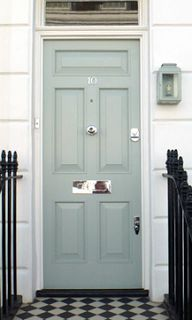 17 best images about front door on pinterest gray modern country style and ball lights for Farrow and ball exterior paint reviews