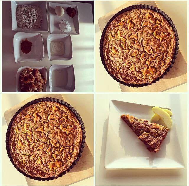 Jablečný koláč - Fitness Recepty
