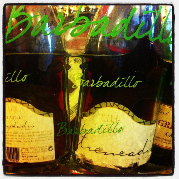 Cubitera del vino blanco Castillo de San Diego Barbadillo para el cava Trencadis #desencuentros