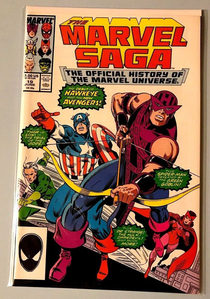 Marvel Comics: The Marvel Saga #20 VF/NM
