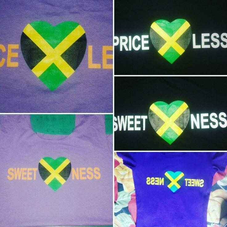 Jamacan flags  t shirt  £ 2.50