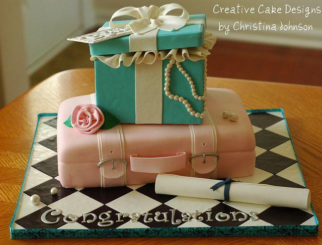 Graduation Cake by Christina's Dessertery, via Flickr