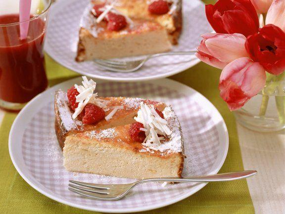 Himbeer-Quark-Torte mit weißer Schokolade   – Quarkkuchen