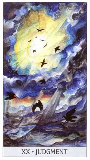 Free Daily Tarotscope -- Dec 8, 2015 -- Judgment -- Today, as Mercury squares the North and South Nodes, you may taking stock of your life and seeing how the actions you've taken and decisions you've made have brought opportunities for you to change the course of your life. (more)..
