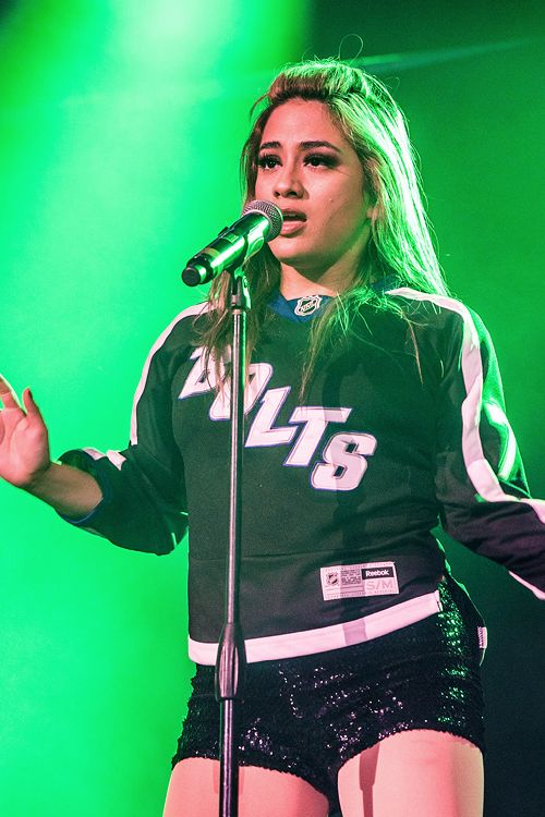 Fifth Harmony perform at 93.3 FLZ FM's Jingle Ball on December 17, 2016 in Tampa, Florida.