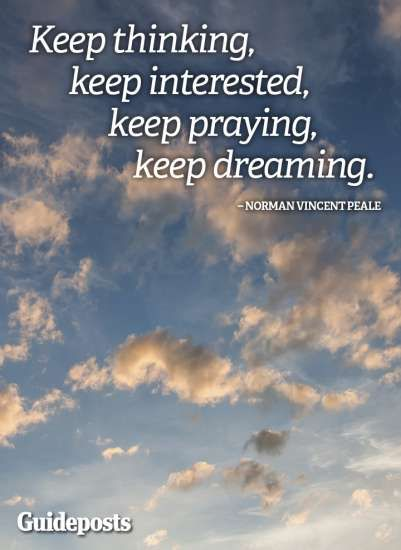 Positive Thoughts From Norman Vincent Peale Inspirational