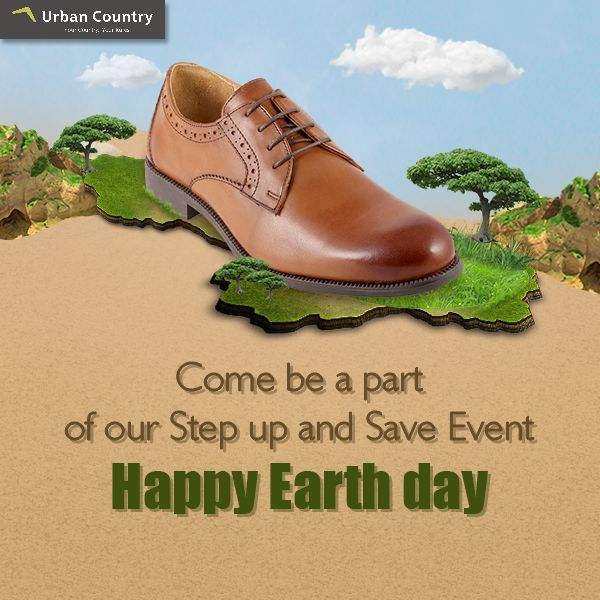 his #EarthDay, let's take initiative for the welfare of society. Come be a part of our step up and save event and donate your old shoes. We will recycle your old shoes and will further give them to needy! For each pair of shoes, you will donate you will be getting 15% discount (excluding current offers) #HappyEarthDay #FanOfTheWeek