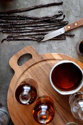 Homemade Vanilla Extract by joy the baker, via Flickr