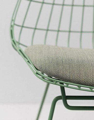 Pastoe Wire Chair SM05 in green Cees Braakman