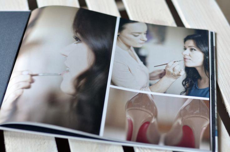 Fotoksiążka ślubna Elizy z bloga Fashionelka.pl #printu #fotoksiążka #ślub #pamiątka #pamiątkaślubna #drukujemyemocje #photobook #wedding #fashionelka