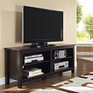 wood tv stand espresso tv stands at hayneedle
