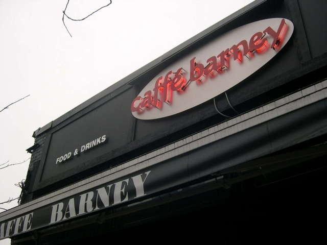 Exterior of Caffé Barney on Main Street